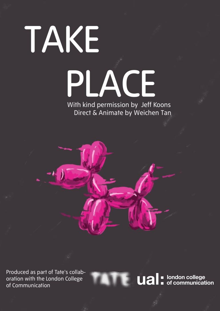 谭伟琛-take place-海报